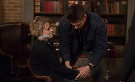 Bound and gagged - Supernatural Season 12 Episode 22