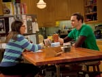 Sheldon and Amy Photo