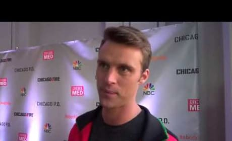 Jesse Spencer Teases Chicago Fire