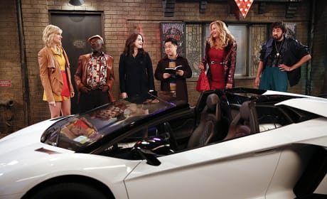 The Lamborghini - 2 Broke Girls