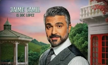 """Schmigadoon!'s Jaime Camil Hints at a Second Magical Season """"Gifted ... by the Heavens"""""""