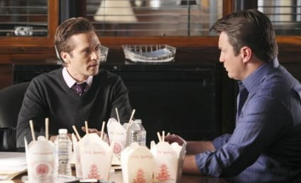 Seamus Dever on Castle Wedding Episode, Grappling Over Donuts
