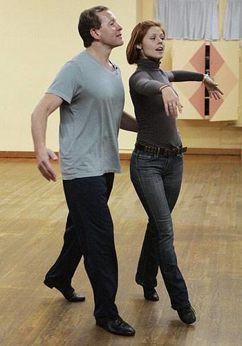 Anna Trebunskaya and Steve Guttenberg