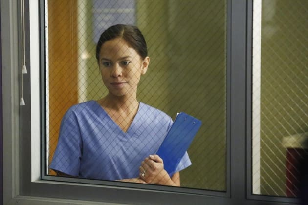 Kim Hidalgo as Wendy - Grey's Anatomy Season 11 Episode 11