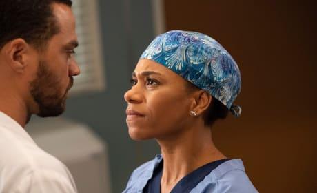 Telling Jackson - Grey's Anatomy Season 15 Episode 8