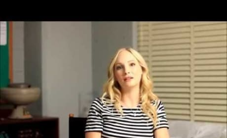 Candice King Talks Caroline and Enzo