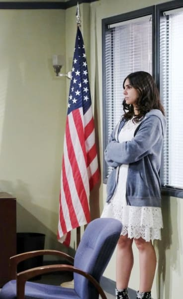 Gabi on the Defense - Days of Our Lives