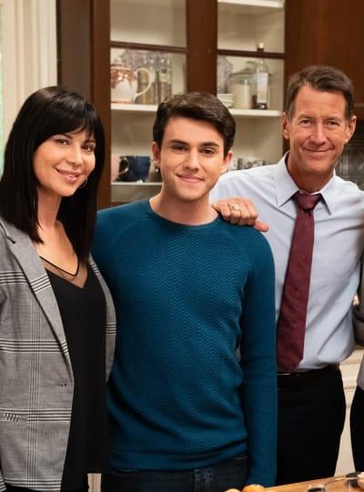 Cassie, Nick, and Sam - Good Witch Season 5 Episode 5