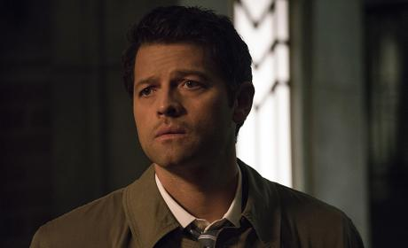 Castiel is lost in thought - Supernatural Season 12 Episode 3