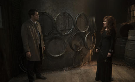 Castiel and Rowena - Supernatural Season 10 Episode 21