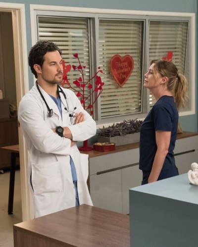 Cold Shoulder - Grey's Anatomy Season 15 Episode 12