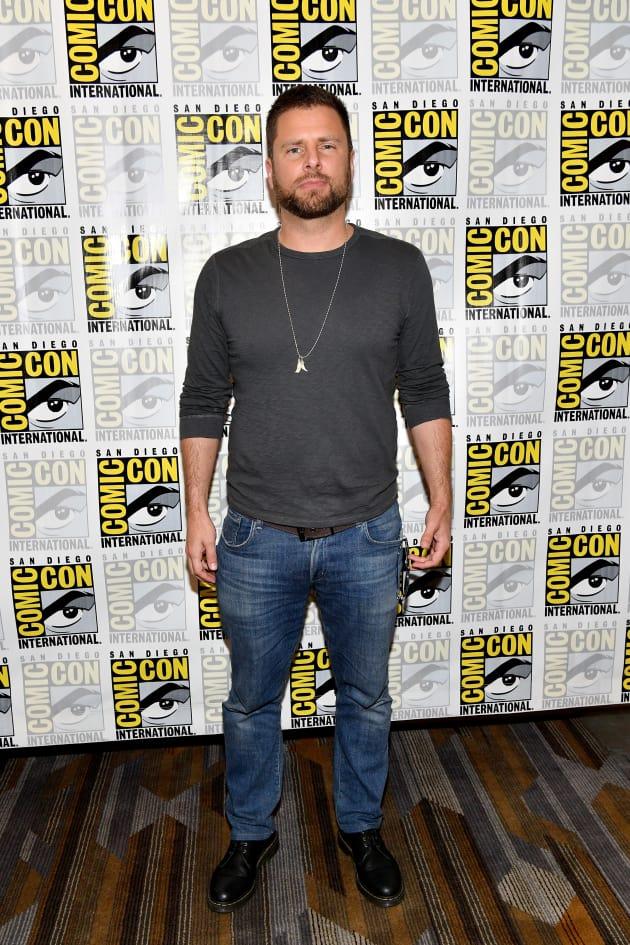 James Roday Attends Comic-Con