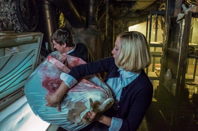 Frozen Body - Bates Motel Season 5 Episode 1