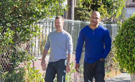 Callen and Hanna in Action