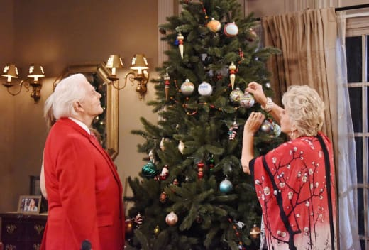 Hanging Christmas Ornaments - Days of Our Lives