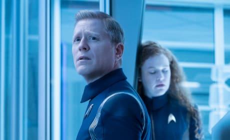 Stamets Worries Over Tilly - Star Trek: Discovery Season 2 Episode 4