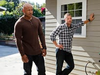 Sam and Callen in Action