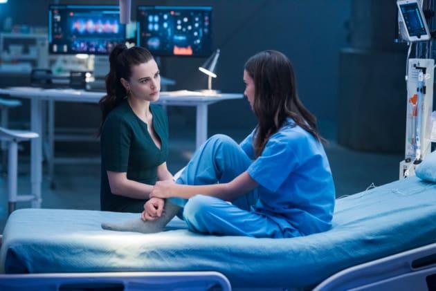Lena and Sam - Supergirl