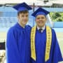 Luke and Manny Graduate