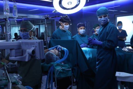 surgery time - The Good Doctor Season 1 Episode 7