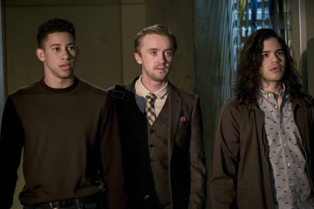 Surprise Entrance - The Flash Season 3 Episode 21