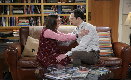 Amy and Sheldon Have a Moment - The Big Bang Theory Season 8 Episode 24