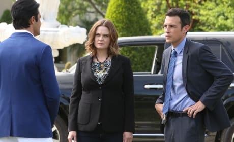 Brennan and Aubrey - Bones