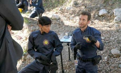 Cam and Hodgins - Bones Season 10 Episode 17