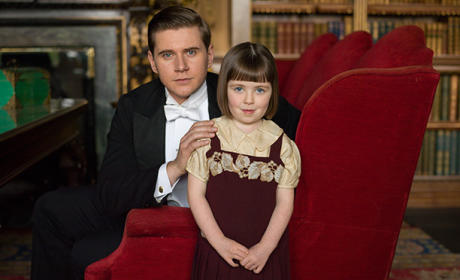 Tom and Sybbie - Downton Abbey