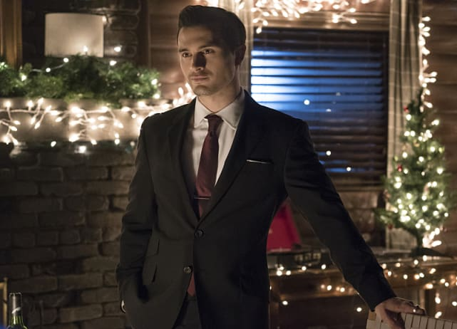 Enzo Suited Up - The Vampire Diaries Season 7 Episode 19