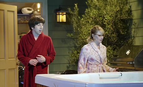 The Hot Tub Surprise - The Big Bang Theory