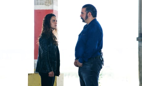 Teresa and Pote - Queen of the South Season 2 Episode 12