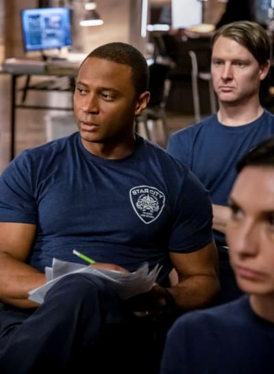 Officer Diggle  - Arrow Season 7 Episode 15