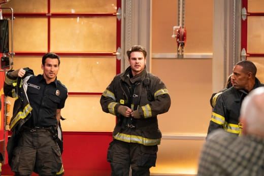 Jack Benched - Station 19 Season 2 Episode 8