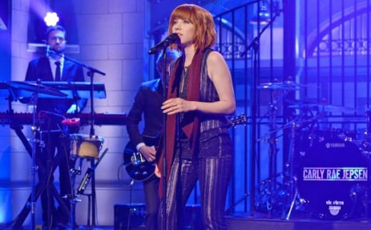 Carly Rae Jepsen on SNL