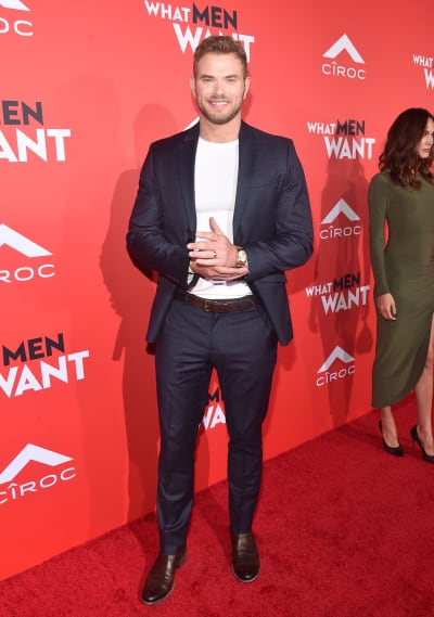 Kellan Lutz Attends What Men Want Premiere