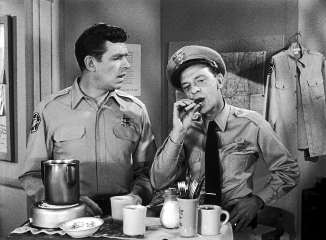 The Andy Griffith Show: Andy Taylor and Barney Fife