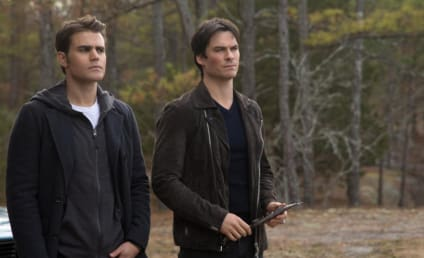 Paul Wesley and Ian Somerhalder Comfort Teen Distraught Over Stefan's The Vampire Diaries Swan Song