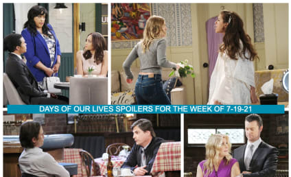 Days of Our Lives Spoilers Week of 7-19-21: Ericole and Ejami Implode!