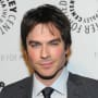 Ian Somerhalder Backstage