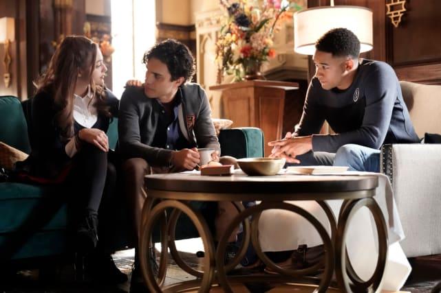 The Love Triangle - Legacies Season 1 Episode 11