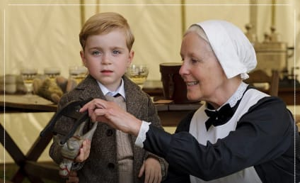 Downton Abbey Introduces Fans to Master George Crawley and Miss Sybbie Branson