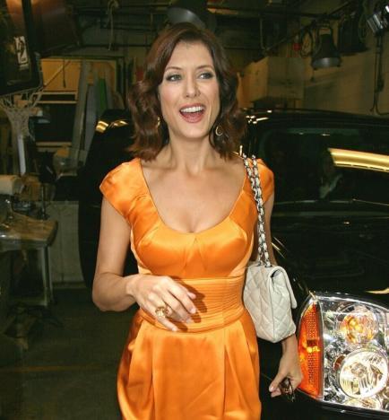 Kate Walsh in Orange
