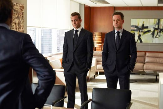 Harvey and Mike - Suits Season 5 Episode 1