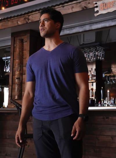 Kai at the Bar - NCIS: Hawai'i Season 1 Episode 1