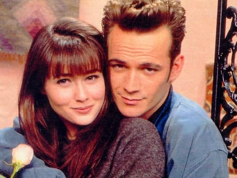 Brenda and Dylan, Beverly Hills, 90210