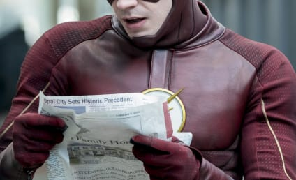 The Flash Photos: Who Will Barry Find in the Future?