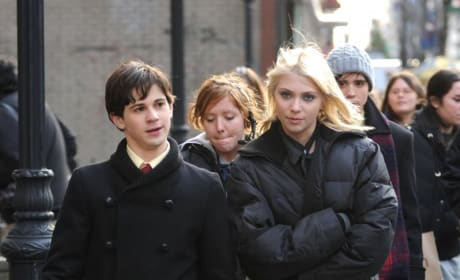 Taylor Momsen and Connor Paolo