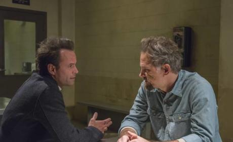 What will Art's reaction be on Justified?