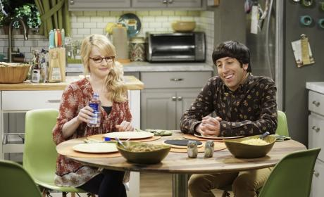 Bernadette and Howard Talk About the Baby - The Big Bang Theory Season 10 Episode 21